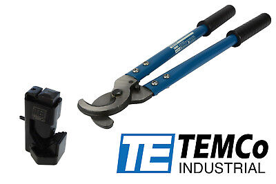 TEMCo DIELESS INDENT HAMMER WIRE LUG CRIMPER TOOL & ELECTRICAL CABLE CUTTER SET