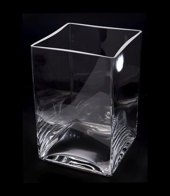 Aquael Decoris Glasbecken Deco Glas Behälter Vase Aquarium Cube 10L