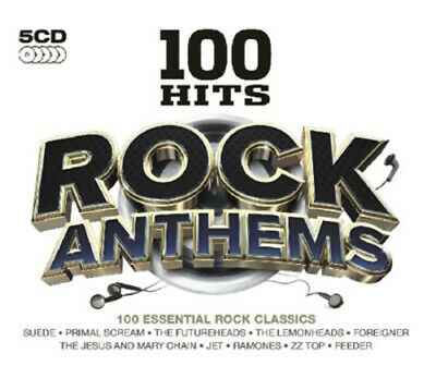Various Artists : 100 Hits: Rock Anthems CD (2011)