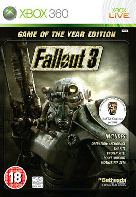 Fallout 3: Game of the Year Edition (Xbox 360) Adventure: Role Playing