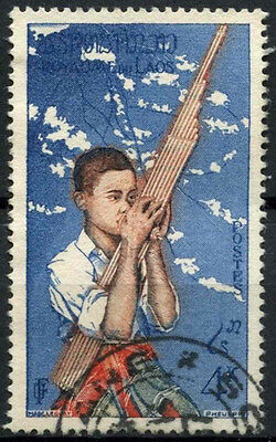 Laos 1957 SG#61, 4k Native Musicians Used #D6350