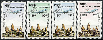 Kampuchea 1986 SG#695-8 Air Cto Used Set #D6343