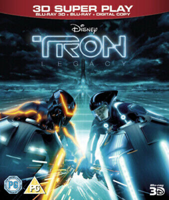 TRON: Legacy Blu-ray (2011) Jeff Bridges