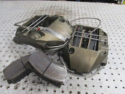 Nascar Brembo 4 Piston Front Calipers With Pads And Lines Short Track 44/38 Mm