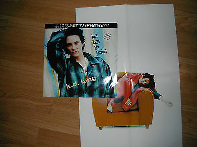 "K.d. Lang Just Keep Me Moving Ltd Ed 12"" + Poster Exc"