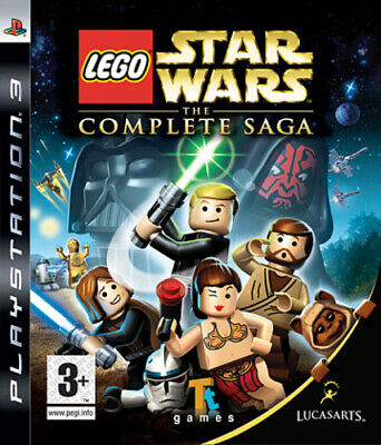 LEGO Star Wars: The Complete Saga (PS3) VideoGames