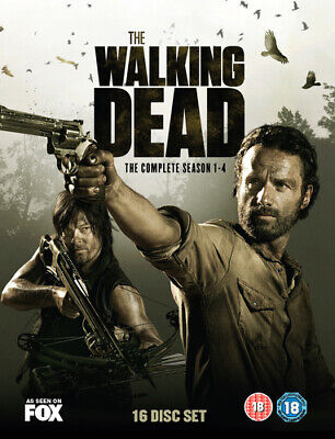 The Walking Dead: The Complete Season 1-4 DVD (2014) Andrew Lincoln