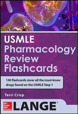 USMLE Pharmacology Review Flash Cards  LikeNew
