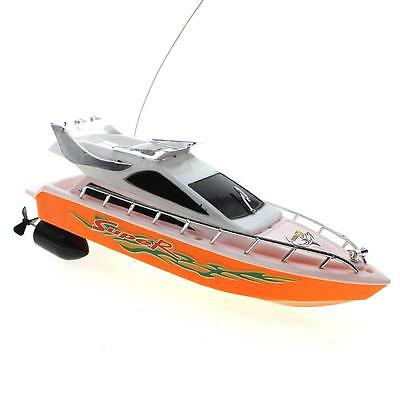 Children Kids Mini Remote Control Boat Electric Toy Model Ship Sailing Game Gift