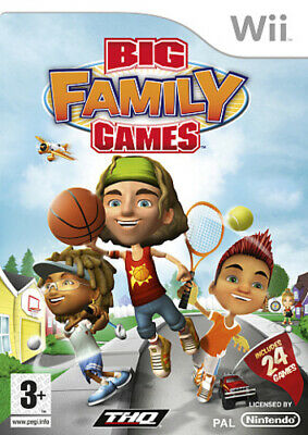 BIG Family Games (Wii) VideoGames