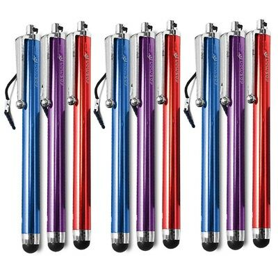 9 PCS Touch Screen Stylus with 3.5mm Jack Plug for Smartphones Tablets - 3 Color