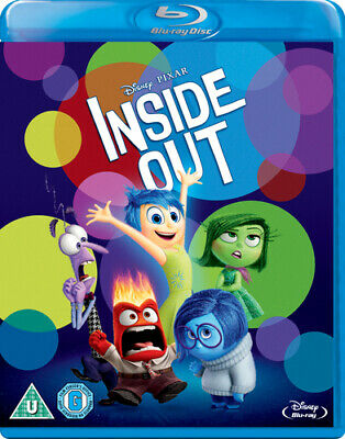 Inside Out Blu-ray (2015) Pete Docter cert U Incredible Value and Free Shipping!
