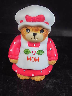 Enesco  LUCY & ME 1987 CHRISTMAS MOM BEAR