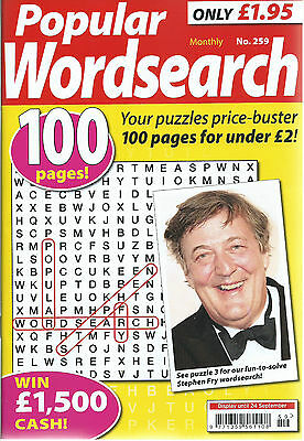 3 Bumper Word Search Magazines Most With 100+ Puzzles Solutions In Back (Set 46)