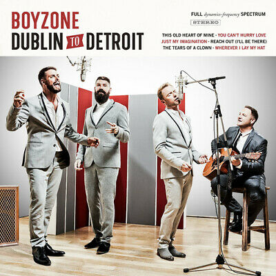 Boyzone : Dublin to Detroit CD (2014)