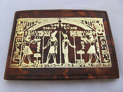 """Egyptian Genuine Camel Leather Small Phone Book 4.25"""""""