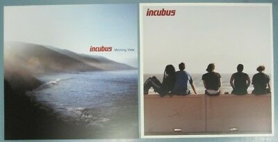 INCUBUS 2001 MORNING VIEW.. 2 SIDED promotional poster/flat New Old Stock Mint