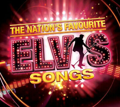 Elvis Presley : The Nation's Favourite Elvis Songs CD (2013) Fast and FREE P & P
