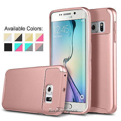 PC Shockproof Dirt Dust Case Cover For Samsung Galaxy S6 / S6 Edge / Edge Plus+
