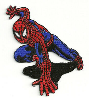 The Amazing Spider-Man Crouching Comic Book Figure Embroidered Patch NEW UNUSED