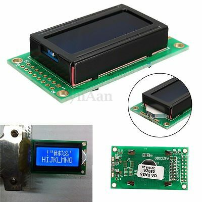 0802 8x2 Character LCD Module Display LCM w/ LED Light for Raspberry pi Arduino