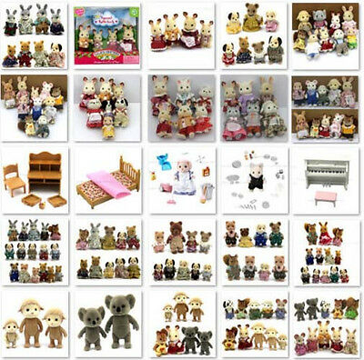 Toys Gifts Sylvanian Families figures dolls House furniture Bear Rabbit Squirrel