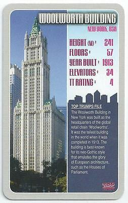 Top Trumps - Skyscrapers - Card - Woolworth Building (Aozo)