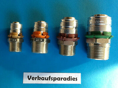 Uponor,Unicor,Unipipe,Metall Pressfitting Übergangsnippel , 16 - 32 mm