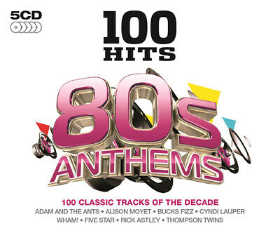 Various Artists : 100 Hits: 80s Anthems CD (2014)