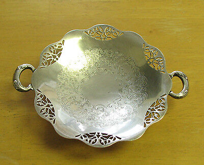 W.N Rogers EP copper Loveplace 155  HANDLED TRAY