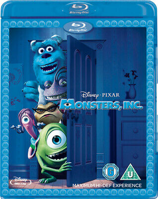 Monsters, Inc. Blu-Ray (2013) Pete Docter cert U 2 discs FREE Shipping, Save £s