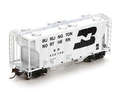 Athearn HO Scale PS-2 2600 Covered Hopper Car Burlington Northern/BN #430198