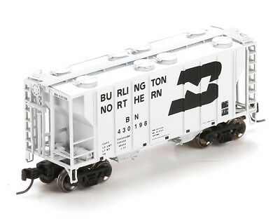 Athearn N Scale PS-2 2600 Covered Hopper Car Burlington Northern/BN #430198