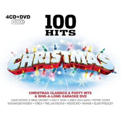 Various Artists : 100 Hits: Christmas CD Album with DVD 5 discs (2009)