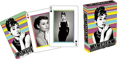 Audrey Hepburn set of 52 playing cards (nm)