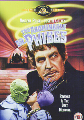 The Abominable Dr. Phibes DVD (2003) Vincent Price, Fuest (DIR) cert 15