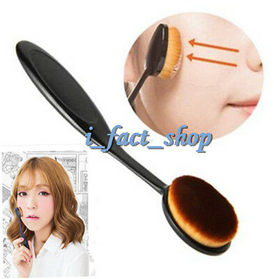 Bendable Make Up Brush Blusher Foundation Brush Pro Cosmetic Toothbrush Shape IF