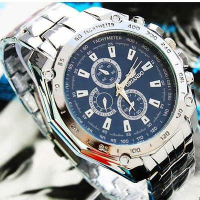 Luxury Men's Stainless Steel Automatic Mechanical Watches Male Dress Wrist Watch