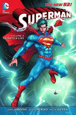 Superman New 52 Volume 2: Secret and Lies Softcover