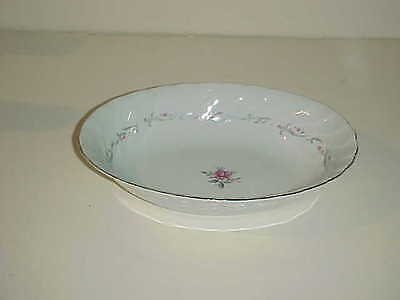 Fine China of Japan Royal Swirl Pattern Oval Vegetable Bowl