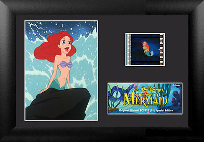 Film Cell Genuine 35mm Framed & Matted Disney Little Mermaid Specl Ed USFC5722