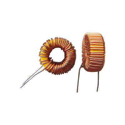 10 PCS Toroid Core Inductors Wire Wind Wound for DIY mah--100uH 6A Coil