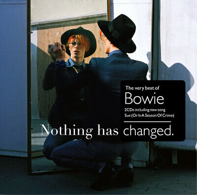 David Bowie : Nothing Has Changed: The Very Best of Bowie CD (2014)