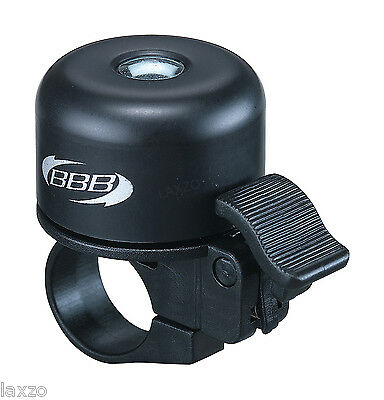 BBB - 11-  Loud and Clear Bicycle Bike Cycle Bell Black Unique Spring System