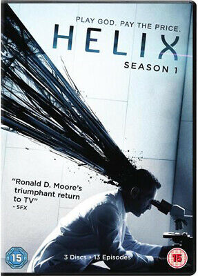 Helix: Season One DVD (2014) Billy Campbell