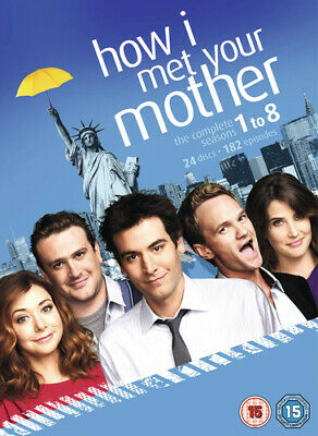 How I Met Your Mother: Seasons 1-8 DVD (2013) Josh Radnor cert 15 24 discs