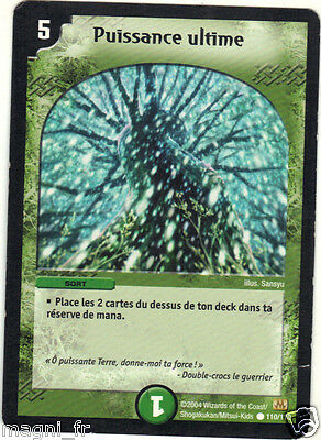 Duel Masters VF n° 110/110 - Puissance ultime (A3183)