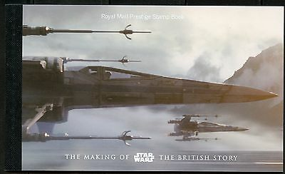 Great Britain 2015 The Making Of Star Wars The British Story Prestige Booklet
