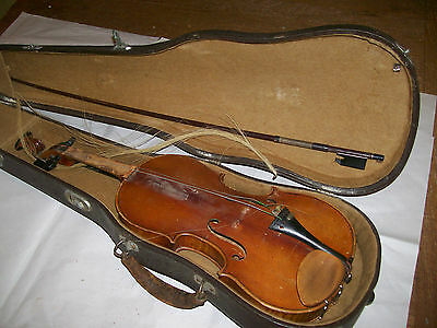 antique violin 3/4 Strad Copy by Herman Rainer Czechosiovakia