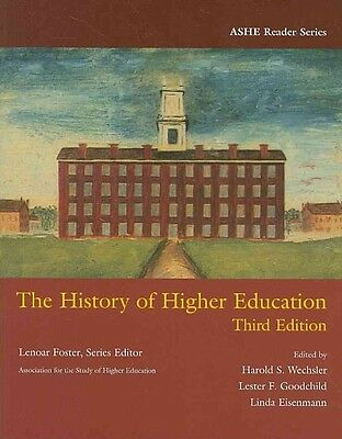 The History of Higher Education by Paperback Book (English)
